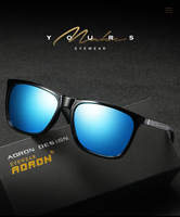New Men Women Polarized Sunglasses Colorful Sunglasses Fashion Night Vision Mirror Aluminum Magnesium Mirror Legs A547