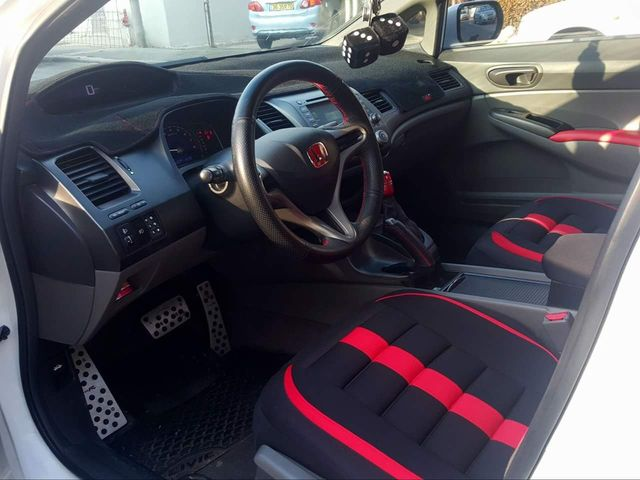 Charming Carro Styling Dashmats Acessórios Tampa Do Painel Para Honda Civic Si Type  R 2006 2007