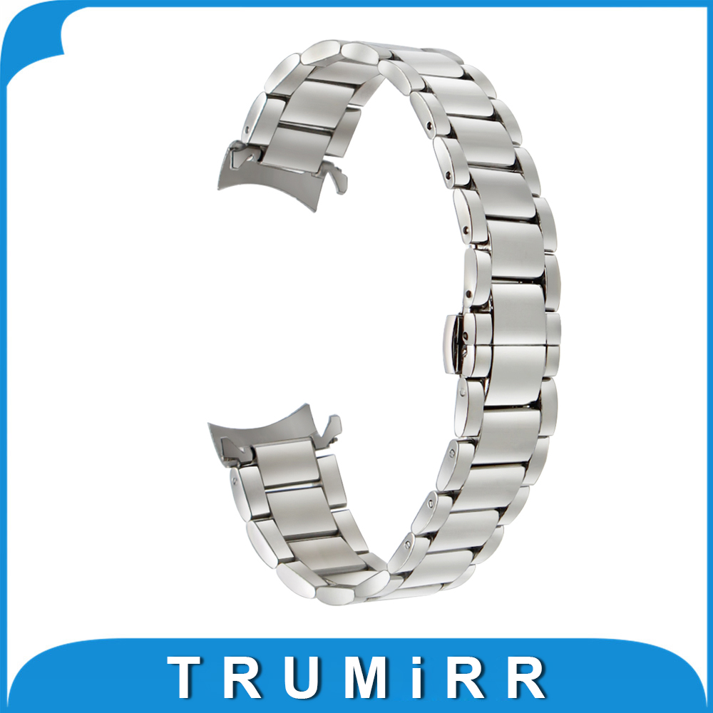 18mm 20mm 22mm Stainless Steel Watchband for Casio BEM 302 307 501 506 517 EF MTP Series Curved End Strap Belt Wrist Bracelet степанов в зимушка зима