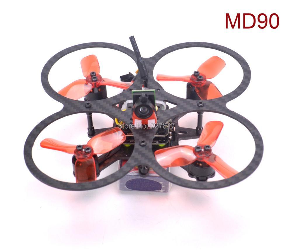 Full carbon fiber Mini MD90 90mm MD 90 F3 / F4 Mini Flytower 4 in1 25a ESC 1103 7800kv for FPV Racing Drone quadcopter kit sky fly mini f3 flytower flight controller with bs410 4in1 10a esc for indoor mini racer fpv drone