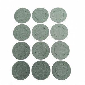 Image 2 - 1000 pcs 1 S Batteria agli ioni di 21700 Li Isolamento Guarnizione Carta Orzo Batteria Delle Cellule Isolante Colla Patch Elettrodo Isolato pastiglie