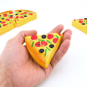 Image 3 - Baby Toys Newborn6PCS Kids Baby Pizza Party Fast Food Cooking Cutting Pretend Play Set Toy Gift  Kitchen Toys Baby Developmental