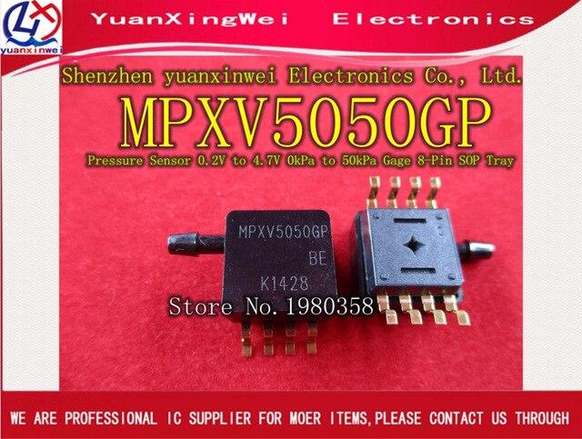 ใหม่และต้นฉบับ MPXV5050GP MPXV5050 เซ็นเซอร์ความดัน,เครื่องส่งสัญญาณ SENSOR GAUGE กด 7.25PSI MAX