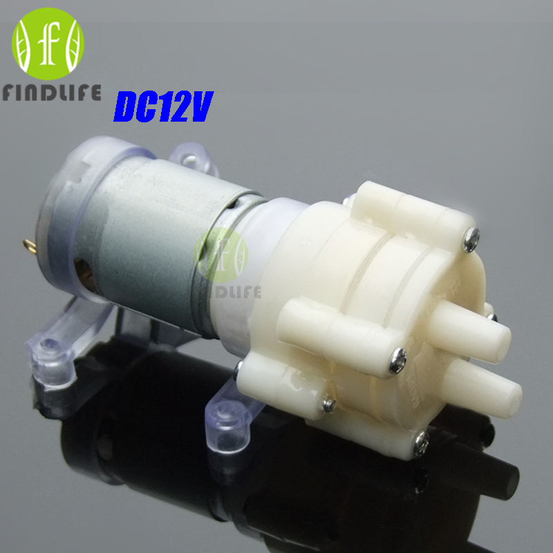 Water Dispenser Aquarium Priming Diaphragm Pump Spray Motor DC12V mini air pump Max Suction2m 90 mm x 40 mm x 35 mm