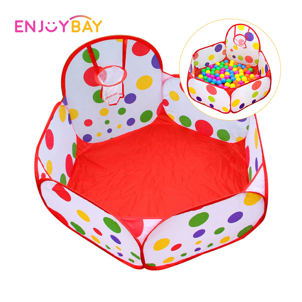 Enjoybay Baby Ocean Ball Tent Eco-Friendly Ocean Ball Pool Indoor Outdoor Play Tents Air Balls House Sports Funny Toys For Kids
