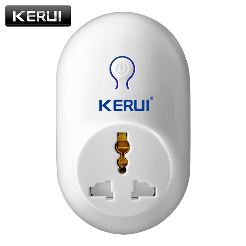 KERUI Alarm Accessories Wireless Remote Switch Smart Power Socket Plug 433MHz  Home Automation For IPhone Android Phones Hot New