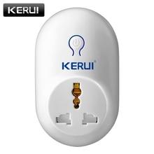 KERUI сигнализации интимные аксессуары беспроводной удаленного коммутатора Smart мощность разъем 433 мГц домашней автоматизации для iPhone телефо