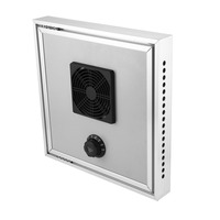HX F15 Eco friendly Greenhouse Solar Thermostatic Ventilator Fan for Automatic Ventilation Air Exhaust and Cooling