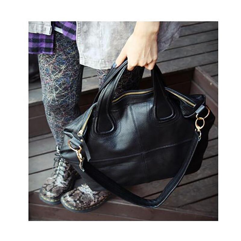 ФОТО Women's Leather Handbags Brand European and American Style Women Shoulder Bags Ladies Casual Tote Women Messenger Bags