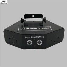 High Brightness LED 6 Eyes Fan Beam Bar Light Beam Laser Lights Red Green Blue Scanner Dj Club Disco Light DMX512 Stage Lighting
