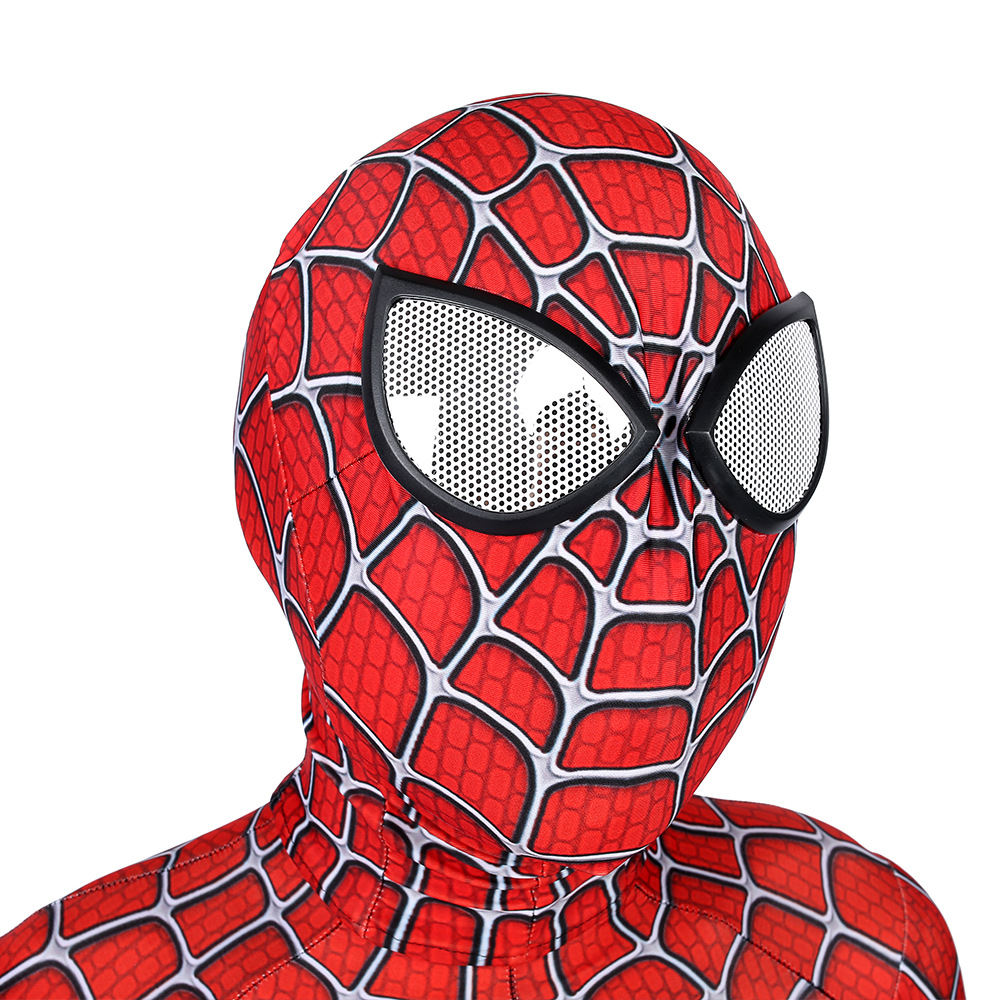 Image 4 - High quality Classic Remy spiderboy costume Kids Adult Lycra Spandex Spider Boy Tights For Halloween Mascot CosplayMovie & TV costumes   -