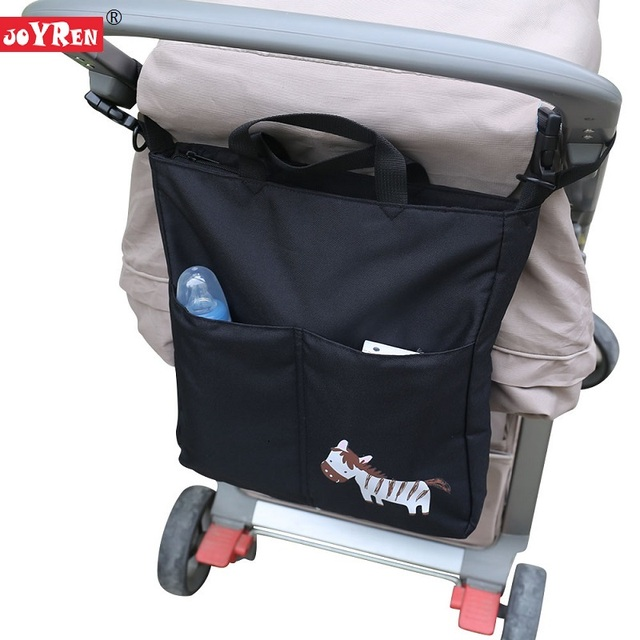 New Brand JOYREN Cartoon Baby Stroller Organizer Accessories Big Capacity Waterproof Bebe Carriage Bag For Prams KF095
