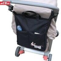 New Brand Cartoon Baby Stroller Organizer Accessories Big Capacity Waterproof Bebe Carriage Bag For Prams KF095