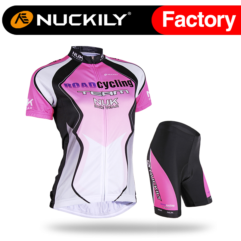 ФОТО Nuckily summer women High quality special design  women's  cycling wear suit  AJ212BK271