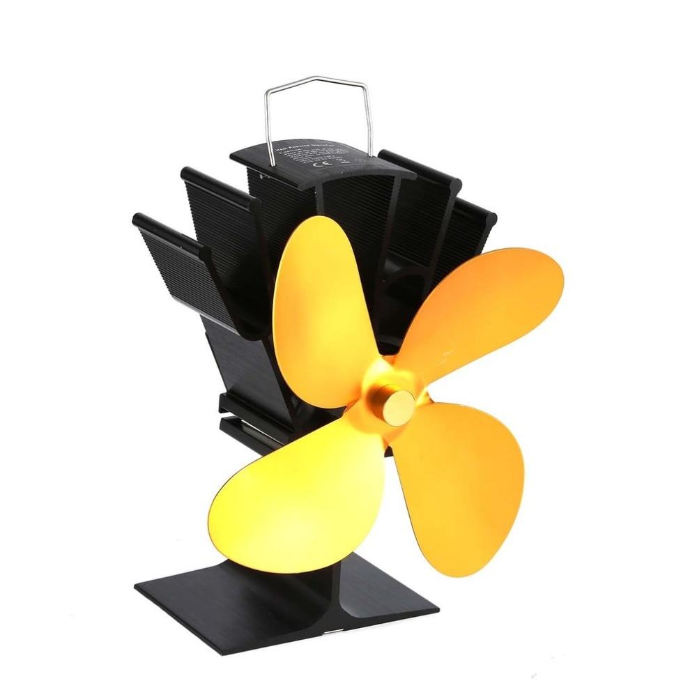 Blatt Fans Videospiele Symbol Der Marke Thermische Power Kamin Fan Wärme Versorgt Holz Herd Fan Für Holz/log Brenner/kamin Eco Freundliche Vier Unterhaltungselektronik