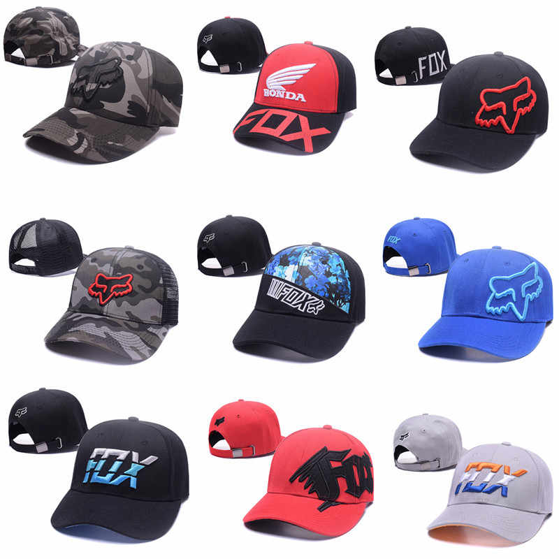 69fa1f2aff1b6 Detail Feedback Questions about Fashion Fox Baseball Cap Women Men Motor  Sports Snapback Hat Unisex Cartoon Pattern Embroidery Caps Hip Hop Hats on  ...