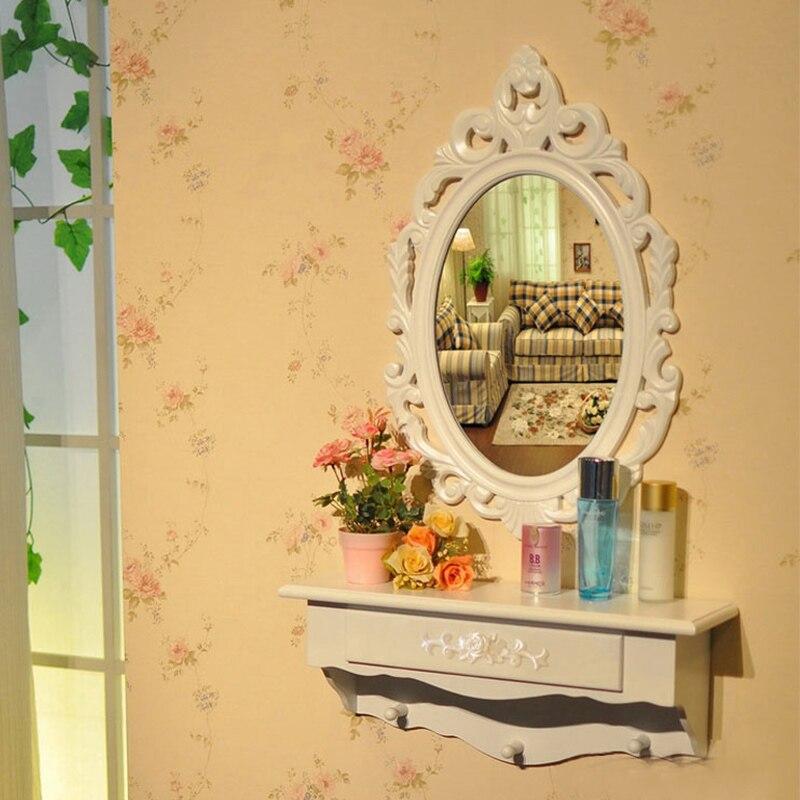 Bathroom Mirror European Antique Mirror Bathroom Vanity Mirror Wall