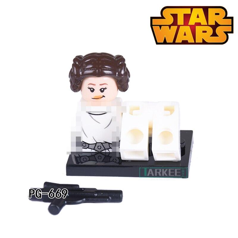 ٩(^‿^)۶Orson krennic Princesa Leia Organa Star Wars DIY figuras ...