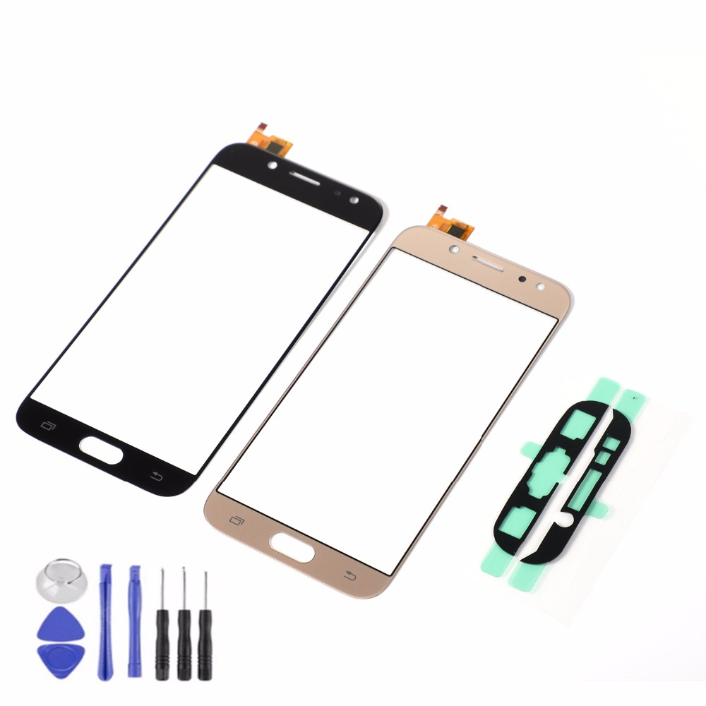 For Samsung Galaxy J5 2017 J5 Pro J530 J530F J530Y J530DS LCD Display Front Glass Touch Screen Sensor+Adhesive+Tools