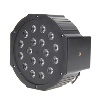 2pcs Professional LED Stage Lights AC110 220V 24W RGB PAR LED Stage Light Disco DJ Bar
