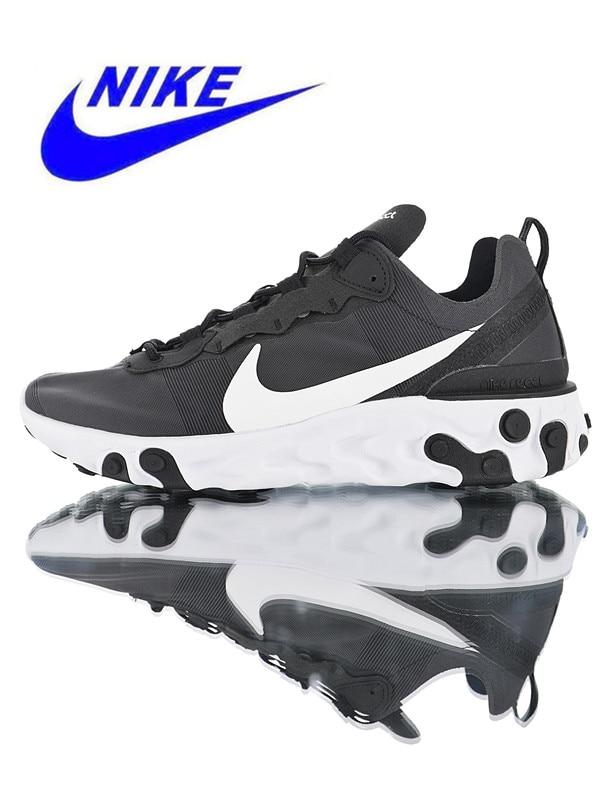 507e3057eeb43 Nike React Element 55 Men s Running Shoes Original Outdoor Sports Shoes  Shock Absorption Non-slip