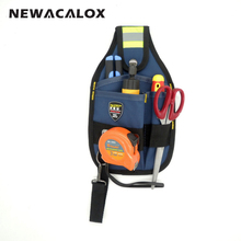 3 Pocket 600D Oxford Fabric Electrician Waist Bag Waterproof Pouch Hand Tool Organizer Storage Tool Holder