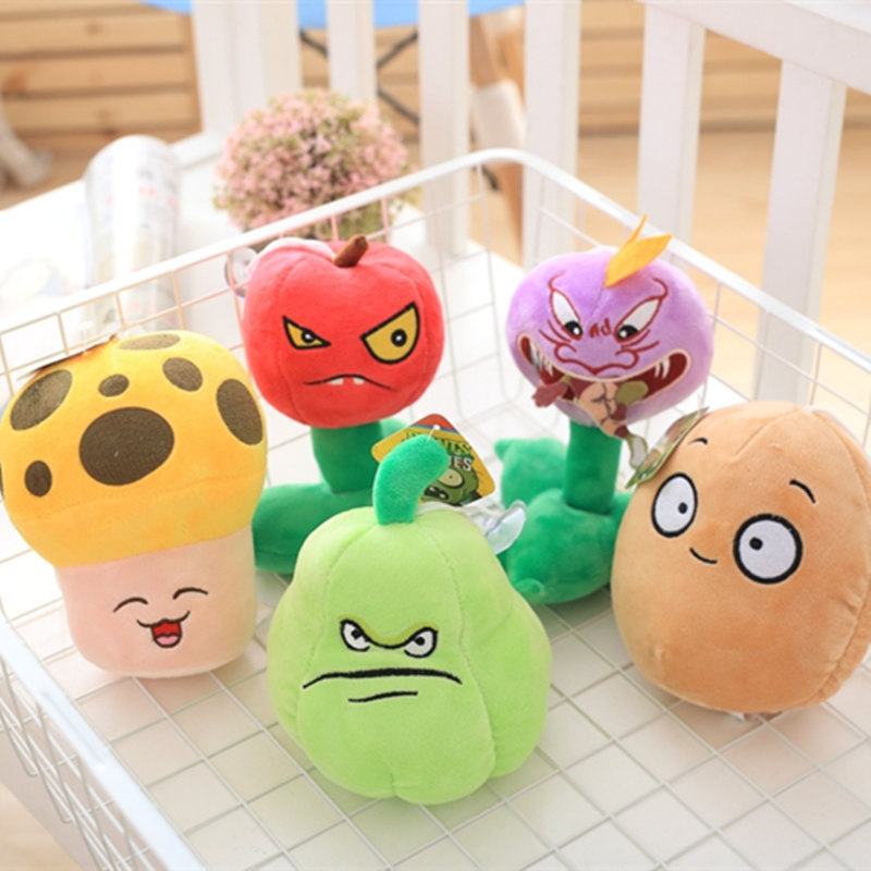 12 Styles 20cm Hot Plants vs Zombies Plush Plants Toys Game Figure Toys Kids Girls Gifts Birthday Toy Christmas Gifts