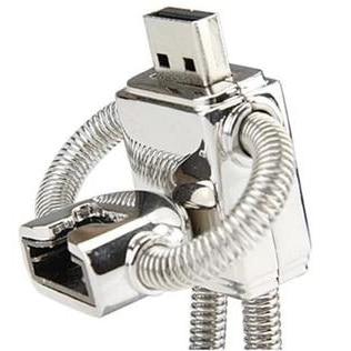 Metal Robot Disk On Key Creativo Usb Flash Drive 64GB 128GB 2TB 2.0 Pen Drive 1TB Pendrives Memory Card Mini Usb Stick Key 64GB