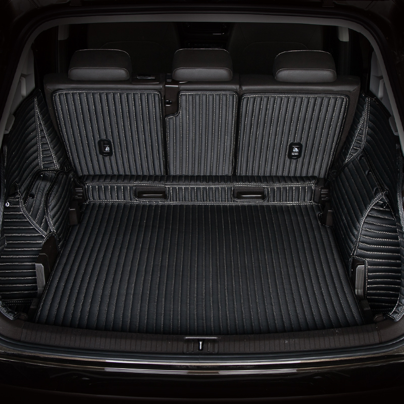 Full Surrounded Waterproof carpets Durable rugs Custom special car trunk mats for Land Rover Range Rover Freelander 2 Defender