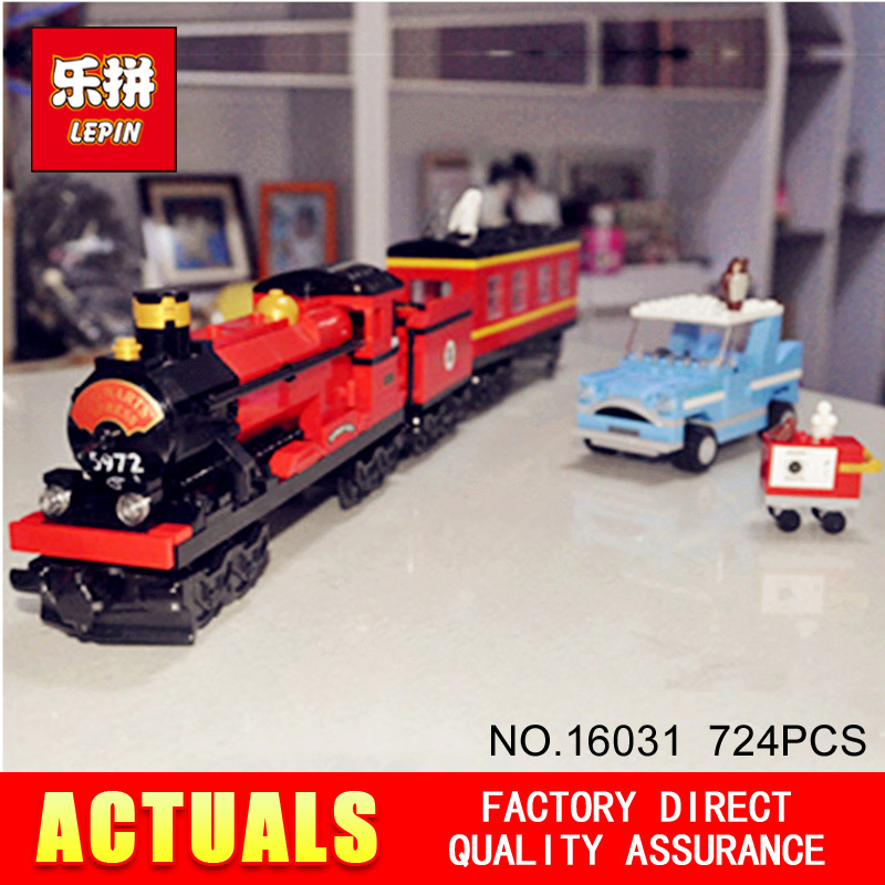 Lepin 16031 724Pcs Movie Series Hogwarts Express Train Classic Set Building Blocks Bricks DIY Toys for children Christmas Gifts new lepin 23015 science and technology education toys 485pcs building blocks set classic pegasus toys children gifts