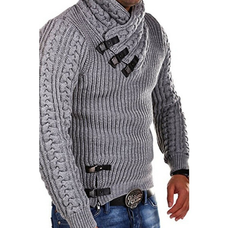 4eba2aa42938 BDLJ 2019 New Mens Wool Sweater Pullover Long Sleeve Turtleneck Sweater  Jumper Knitwear Winter Casual Cashmere Outerwears Male