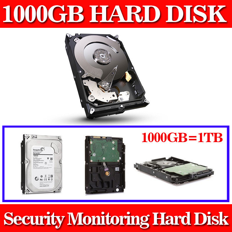 Monitoring dedicated hard drive 1000GB 1TB 3.5 inch 64M cache 7200RPM 6GB/s Sata HDD Hard Drive Disk 2017 new 3 5 inch 2000g 2tb 7200rpm sata professional surveillance hard disk drive internal hdd for cctv dvr security system kit