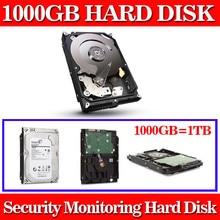 Monitoreo dedicado disco duro 1000 GB 1 TB 3.5 pulgadas 64 M caché 7200 RPM Sata de 6 GB/s de DISCO DURO Duro unidad de Disco