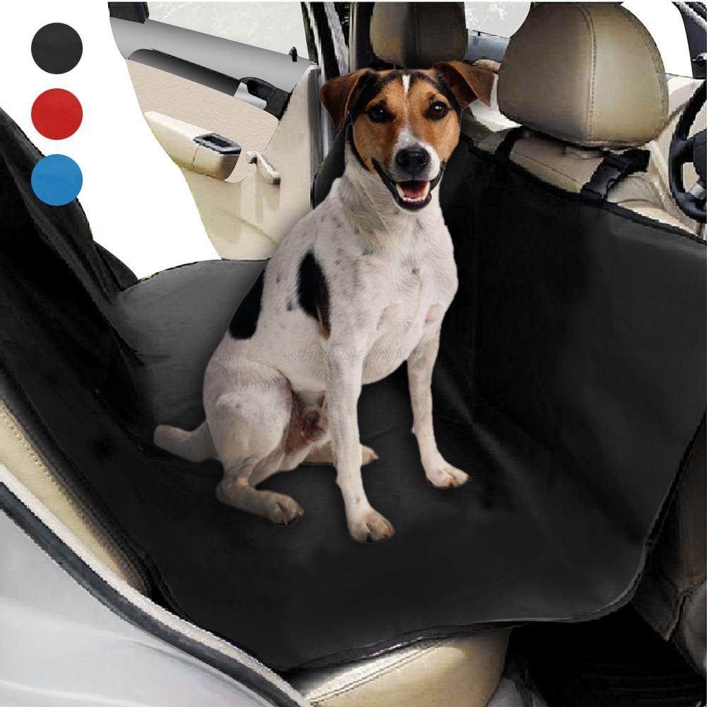 Examplary Rear Bench Seat Hammock Style Waterproof Dog Car Seat Cover Dog Carriers From Home Garden On Waterproof Dog Car Seat Cover Rear Bench Seat Hammock Style Outdoor Carseat Cover Protector bark post Dog Car Hammock