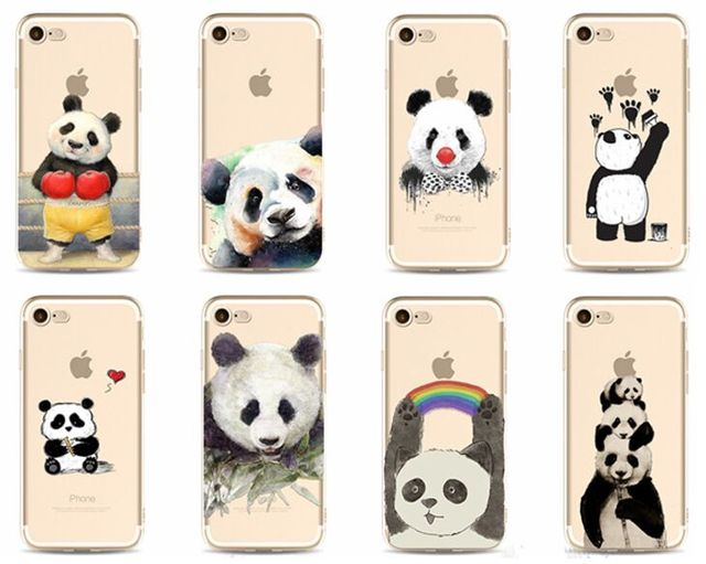 iphone xr case animal clear