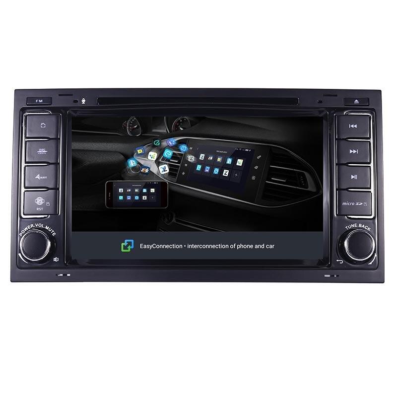 "Image 5 - 7 ""HD ips сенсорный экран Android 9,0 автомобильный dvd плеер для Volkswagen Touareg T5 транспортер мультивен 2004 2011 радио аудио стерео-in Мультимедиаплеер для авто from Автомобили и мотоциклы"