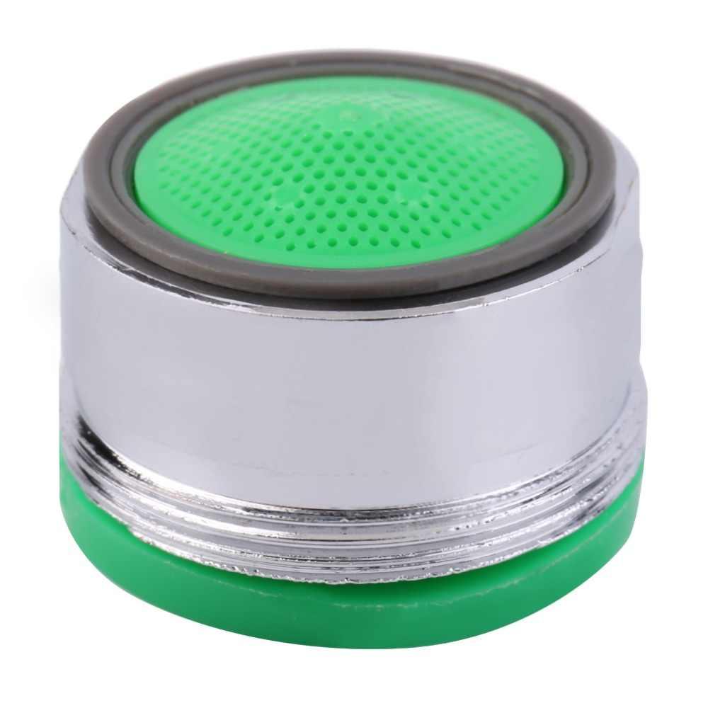 Materiały izolacyjne 360 woda Bubbler obróć kran Tap dysza gwint obrotowy Aerator filtr opryskiwacz kuchnia chromowana
