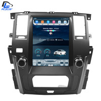 32G ROM Vertical screen android gps multimedia video radio player in dash for Nissan Patrol 2016 2017 years car navigaton stereo