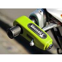 New Universal Motorcycle Handlebar Lock Aluminium CNC Motorbike Handle Theft Protection Lock Brake Throttle Grip Security