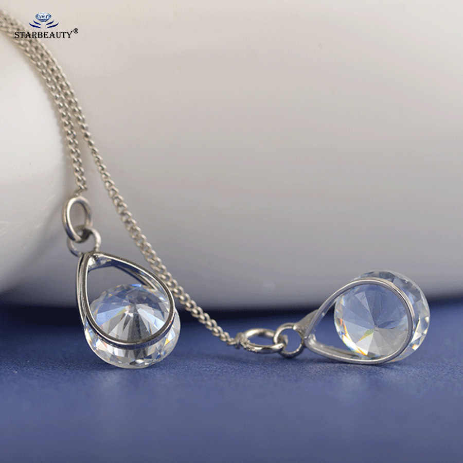 Starbeauty 2 PC Panjang Rumbai Anting-Anting Emas Warna Perak Alloy Air Drop Telinga Piercing Helix Tindik Oreja Palsu Anting-Anting untuk wanita