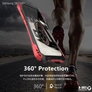 Image 2 - Dành Cho Samsung Galaxy Samsung Galaxy S10 Plus S9 S8 PLUS NOTE 9 AMIRA Chống Sốc Carbon Sợi Kim Loại Giáp Lưng Ốp Lưng galaxy Note 10 +