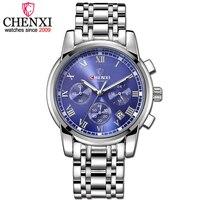 CHENXI Luxury Mens Watches Men Fashion Male Clock Quartz Watch Men S Sport Full Steel Waterproof