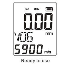 CM01 - เครื่องวัดความหนาอัลตร้าโซนิค SmartSensor รุ่น AS860