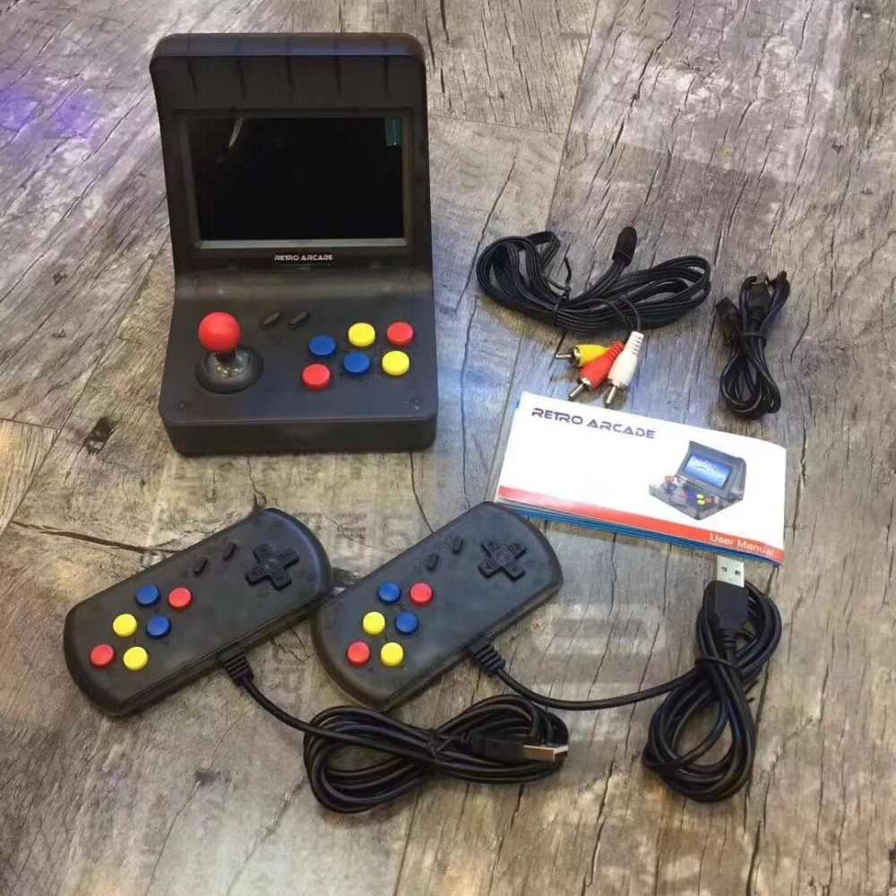 bdefacf4e7b1 4.3inch 64Bit Portable Retro Mini Arcade Handheld Game Console 3000 Video  Games Classic Family Game