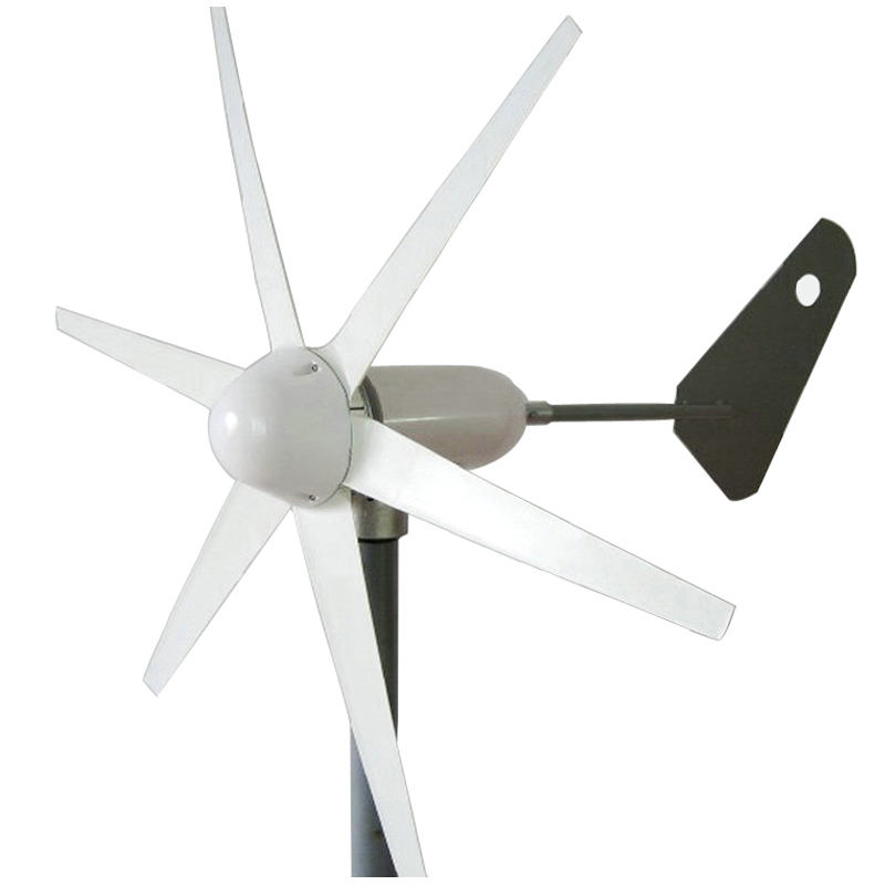 wind generator 1m/s start wind speed 400W three phase wind turbine generator 6 blades 12V 24V AC wind turbine CE & RoHS approved 1kw horizontal wind turbine generator 3 5 blades start up 2m s 24v 48v optional wind generator ce approval