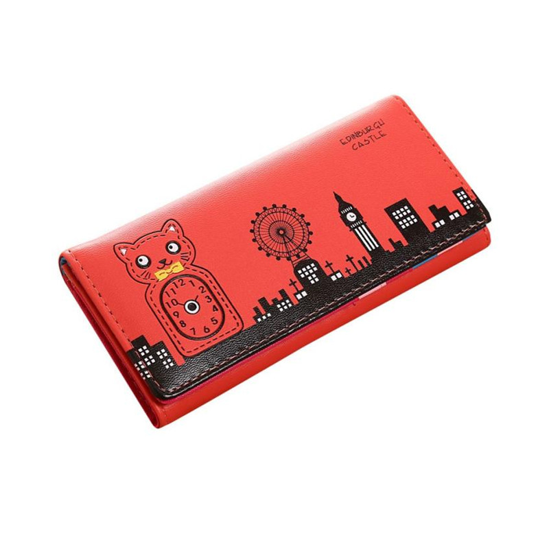 Valink 2017 Fashion Women Wallet Bolsa Feminina Hasp Coin Purse Long Wallet Card Holders Handbag Wallet Women Carteira Feminina 5