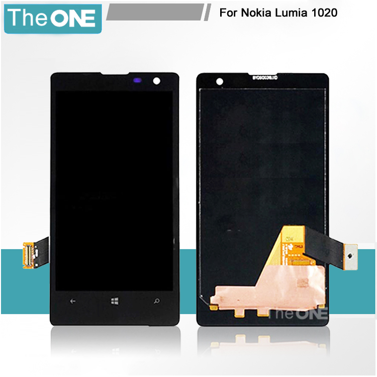 For Nokia Lumia 1020 LCD Display Touch Digitizer Screen Assembly Free Shipping