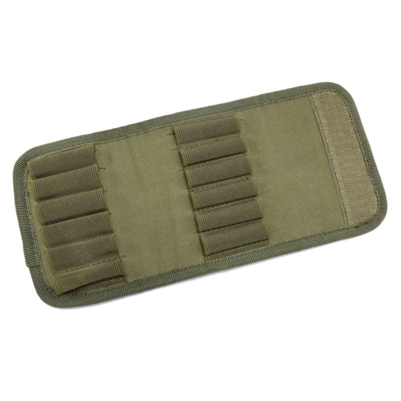 12 Rifle Wallet Hunting Accessory Cartridge Padded Holder Carrier 30-06 Shotgun Cartridge
