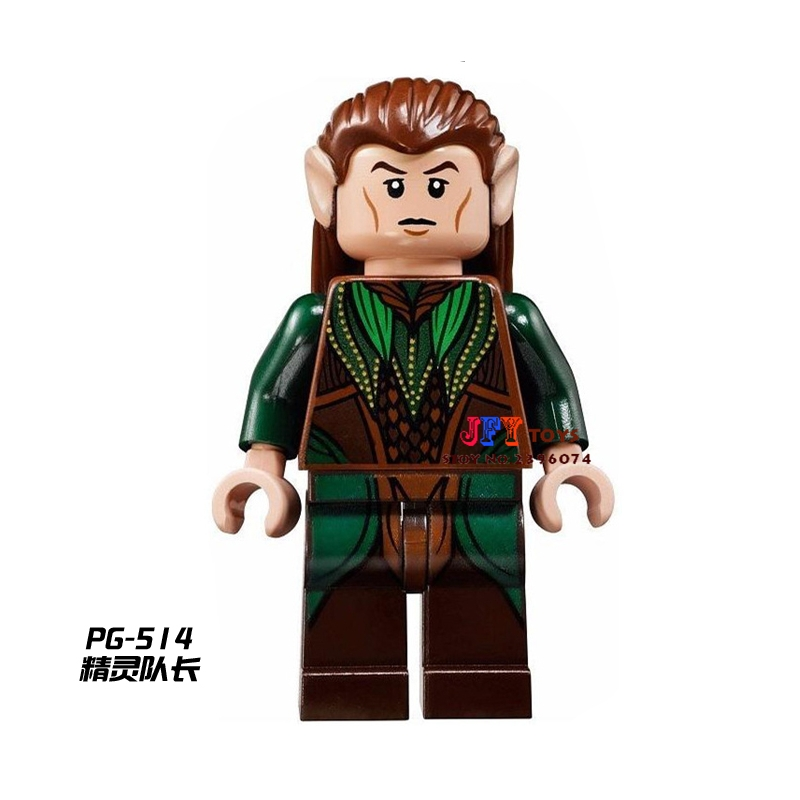 50pcs The Hobbit Mirkwood Elf LOTR building blocks bricks friends for girl boy kids children toys brinquedos menina