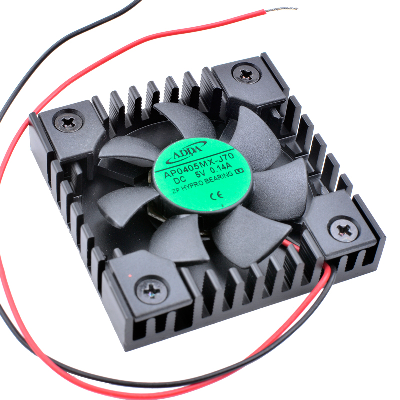 все цены на Brand new original AP0405MX-J70 4008 4cm 40x40x8mm DC5V 0.14A TV box router mobile phone transformation special heat sink fan онлайн